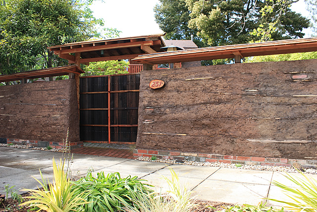 Japanese Gardens Clay Wall Fence SF Bay Area Bio Friendly