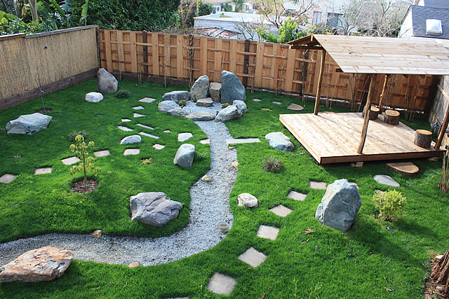 Japanese garden design east bay bio friendly gardens for Gartengestaltung nordseite