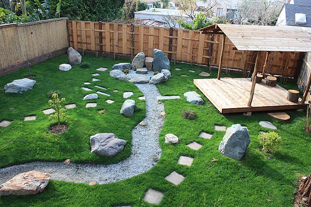 Japanese garden design east bay bio friendly gardens for Gartengestaltung nordseite