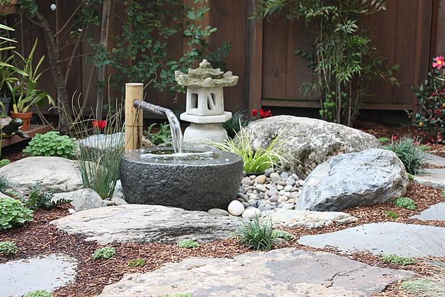 Japanese Home Garden Design S F Marin Bio Friendly Gardens